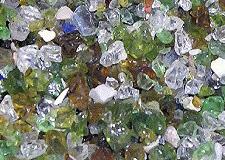 Sable et gravier de verre (issu du recyclage)