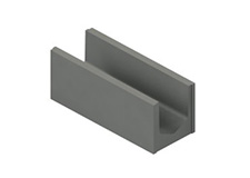 U de chainage – blocs linteaux